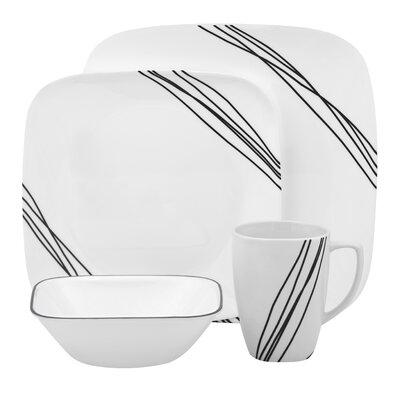Corelle Simple Sketch Dinnerware Set