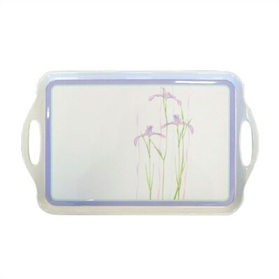 Shadow Iris Rectangular Tray