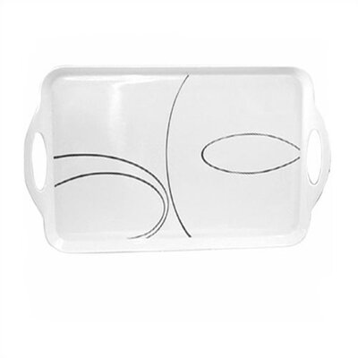 Simple Lines Rectangular Tray