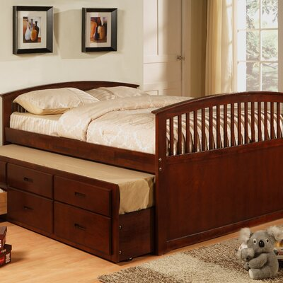 Williams Import Co. Full / Twin Captain Bed
