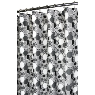 Watershed Prints Polyester Stones Shower Curtain