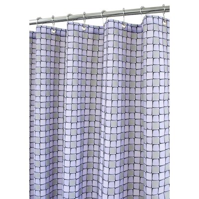Prints Polyester Urban Tiles Shower Curtain