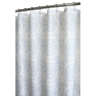 Prints Polyester Venetian Tiles Shower Curtain
