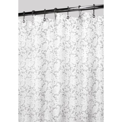 Prints Polyester Victorian Lace Shower Curtain