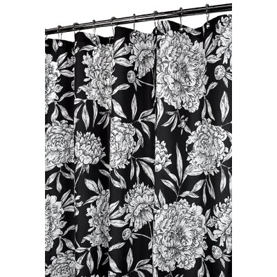 Watershed Prints Stall Polyester Peony Stall Shower Curtain