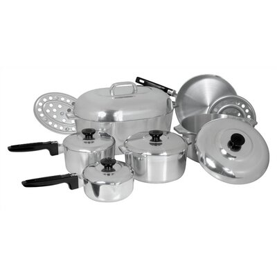 Magnalite Cookware Classic Cast Aluminum 13 Piece Classic Cookware Set