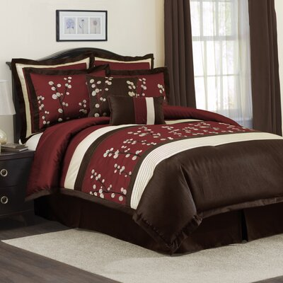 Special Edition by Lush Decor Cocoa Flower Bedding Collection