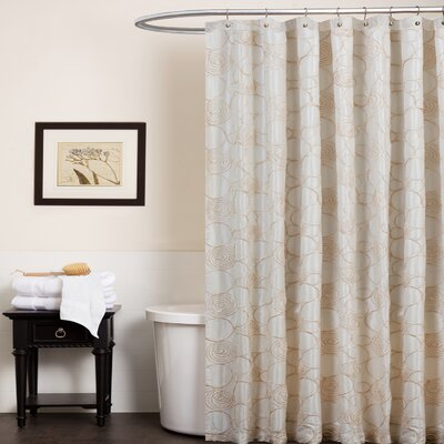 Circle Charm Polyester Shower Curtain