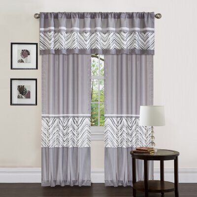 Special Edition by Lush Decor Evening Grace Window Treatment Collection