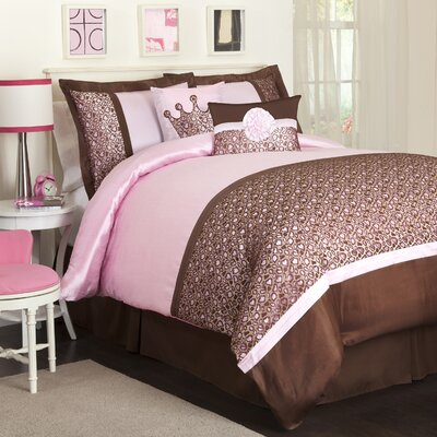 Special Edition by Lush Decor Leopard Juvy Comforter Set