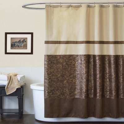 Polyester Crocodile Shower Curtain