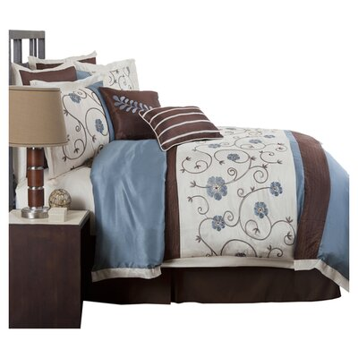 Special Edition by Lush Decor Royal Garden 8 Piece Comforter Set