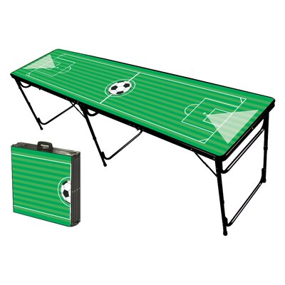 Party Pong Tables Soccer Field Folding and Portable Beer Pong Table