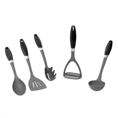 EKCO 123 5 Piece Nylon Kitchen Tools Set