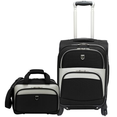 Carry on 2 Piece Spinner Luggage Set