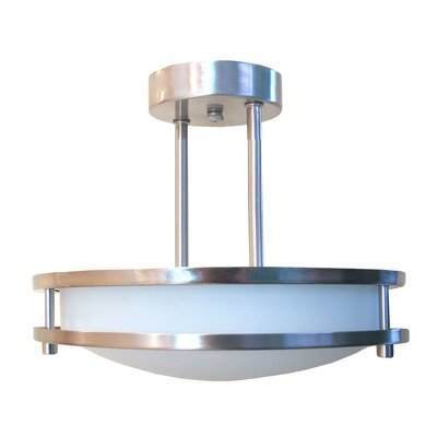 Saturn 2 Light Semi-Flush Mount