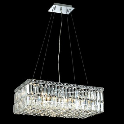 Elegant Lighting Maxim 6 Light  Chandelier