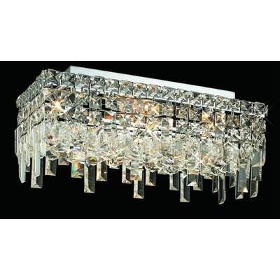 Elegant Lighting Maxim 4 Light Semi Flush Mount