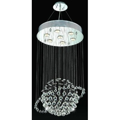 Elegant Lighting Galaxy 7 Light Pendant