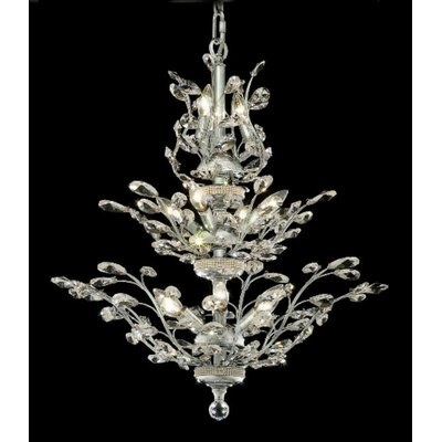 Elegant Lighting Orchid 13 Light Chandelier