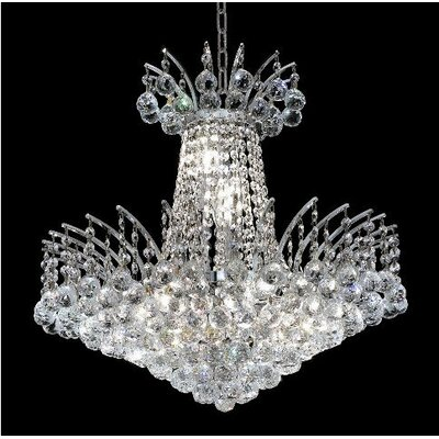 Elegant Lighting Victoria 8 Light Chandelier
