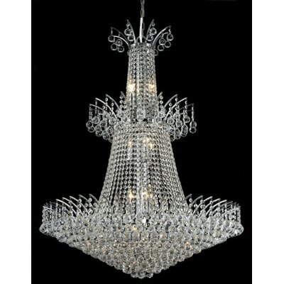Elegant Lighting Victoria 18 Light  Chandelier