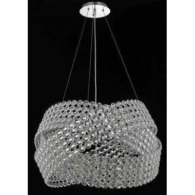 Elegant Lighting Electron 6 Light Chandelier