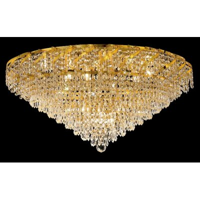 Elegant Lighting Belenus 21 Light Flush Mount