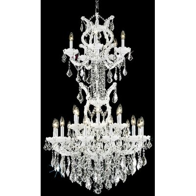 Elegant Lighting Maria Theresa 25 Light  Chandelier
