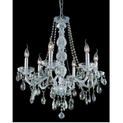 Elegant Lighting Verona 6 Light Chandelier