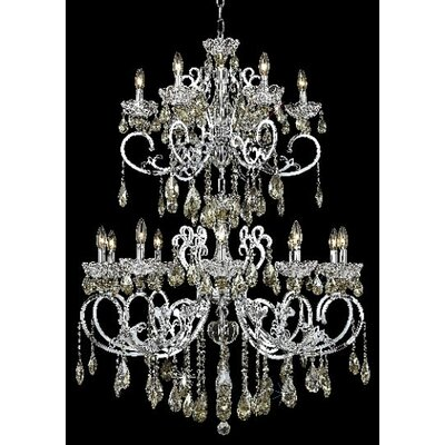 Elegant Lighting Aria 16 Light  Chandelier