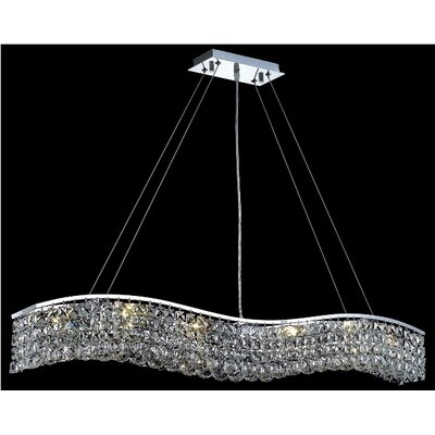 Elegant Lighting Contour  10 Light Chandelier