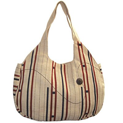 Jute Farm Natural Escalade Hobo Bag