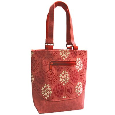 Jute Farm Natural Cleopatra Jute Tote Bag