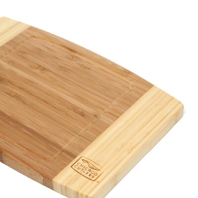 "Chicago Cutlery Woodworks 12"" x 8"" x 0.75"" Bamboo Cutting Board"