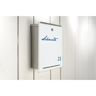 Letterman III Wall Mounted Letter Box