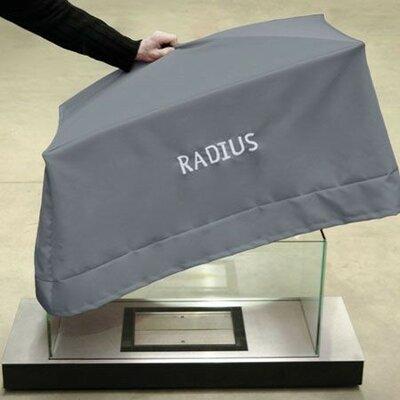 Radius Design Cover for Uni-Flame Fireplace