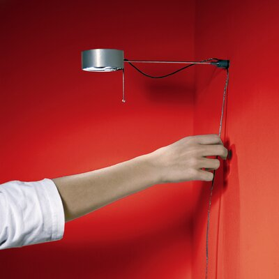 Absolut Lighting Touch-O-Matic Click Swing Arm Wall Lamp