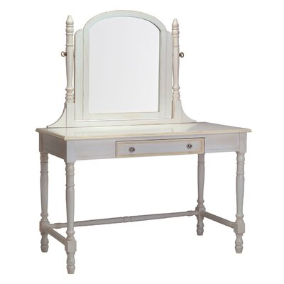 Newport Cottages Taylor Cottage Victorian Vanity Desk with Mirror