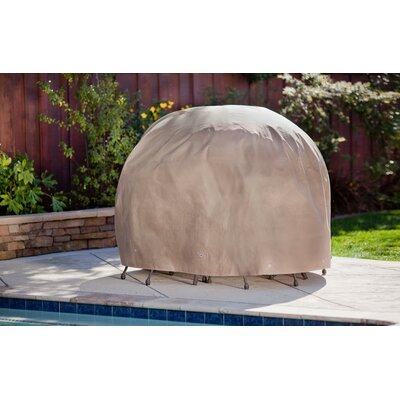 Duck Covers Round Patio Table and Chair Set Cover