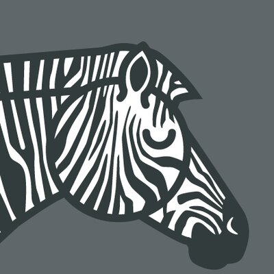 ModTots Animals Zebra Painting