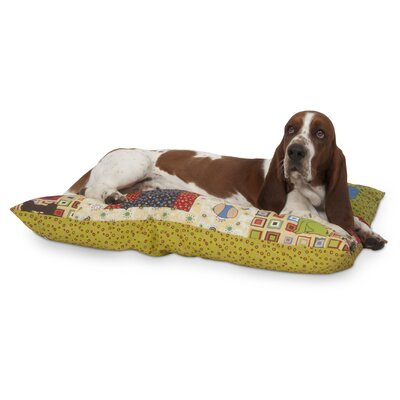 Petmate Knife Edge Pillow Novelty Quilted Dog Bed in Kennel