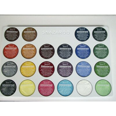 SnazarooUSA Face Paint Professional 22 Color Palette