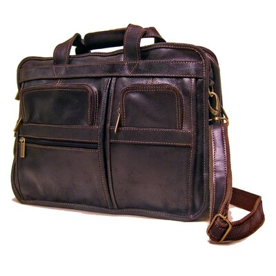 Multi Function Leather Briefcase