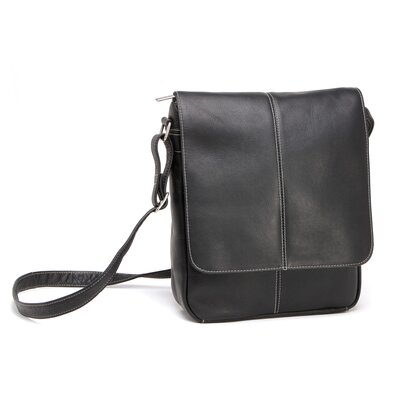 Le Donne Leather Flap Over E-Reader/I-Pad Shoulder Bag