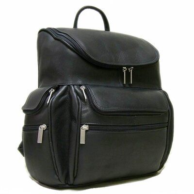 Leather Computer Backpack