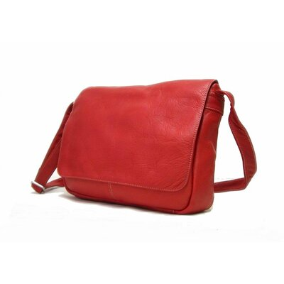 Le Donne Leather Flap Over Shoulder Bag