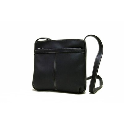 Women's Shoulder Bag with Exterior Zip Pocket