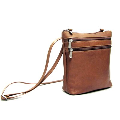 Le Donne Leather Zip Cross Body Bag