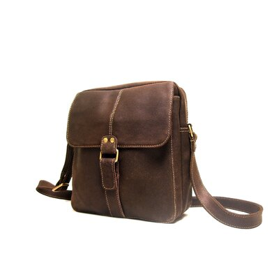 Le Donne Leather Distressed Leather Men's Bag